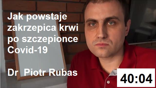 Dr Piotr Rubas - zakrzepica krwi